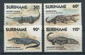 Diplomatique 287817) Surinam Nº 1248-1251 ** Crocodiles-afficher Le Titre D'origine