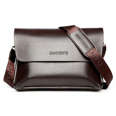 Men's Genuine Leather Casual Messenger Bag Business Briefcase Shoulder Bag