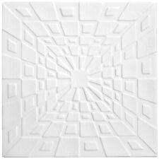 20 qm Deckenplatten Stuck Platten Dekor Decke Styroporplatten 50x50cm Nr.98