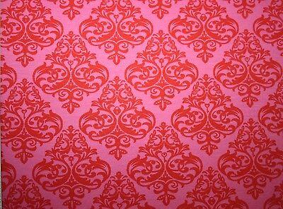 Jersey Love Keys blau rosa Farbenmix Ornamente Zuschnitt Baumwolle elastic