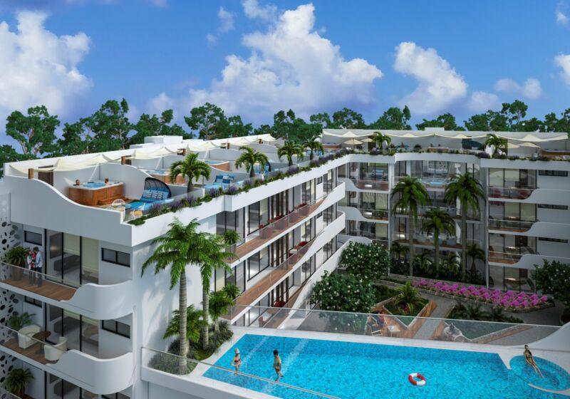 Preventa Departamento en Cancún 3 recamaras