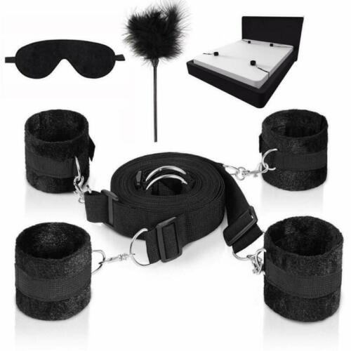 Under the Bed Restraints Bed Restraints Set Includes Feather Tickler and Eye M