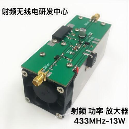 heatsink 433MHZ 350-480MHZ 13W UHF RF Radio Power Amplifier AMP DMR