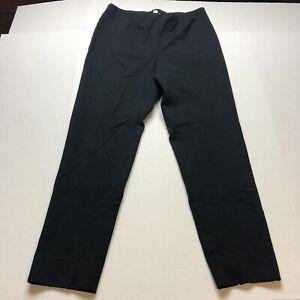 J-Jill-Ponte-Slim-Leg-Black-Pants-Size-Medium-A2192