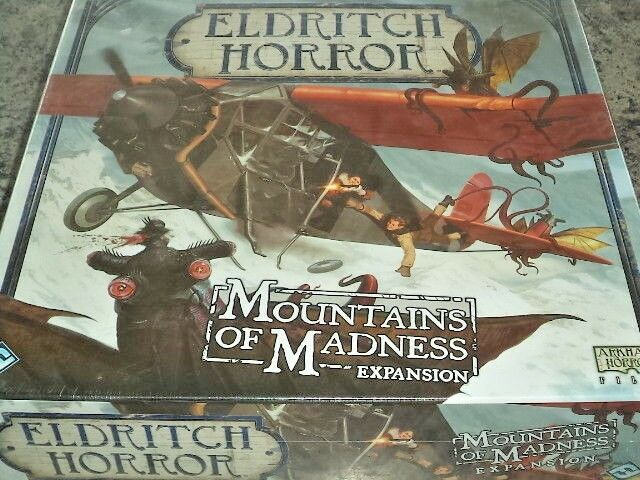 Eldritch Horror Mountains of Madness Expansion - FFG Games Board Game New