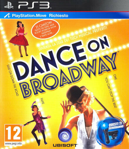 Danse On Broadway (PLAYSTATION Move Requis) PS3 PLAYSTATION 3 Ubisoft