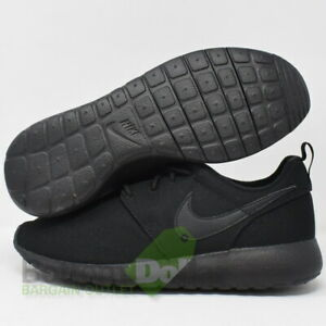 Nike 599728 031 Roshe One Gs Big Kid Running Shoes Black Black Black 7y 91202110635 Ebay