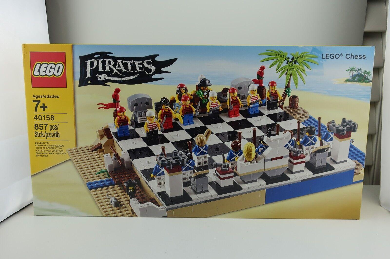 Lego 40158 Piratas Juego De Ajedrez 20 Minifiguras