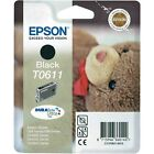 Epson Original Ink Cartridge Black Injection T0611 C13t06114010