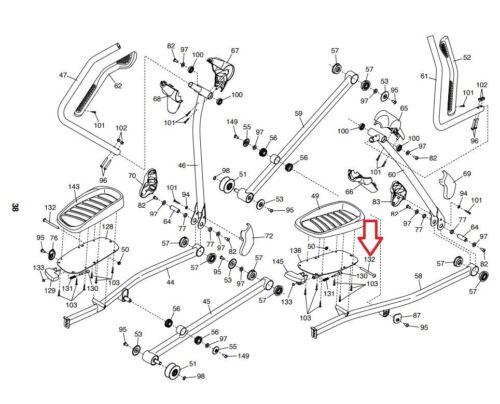 Details about  /Proform FreeMotion HealthRider NordicTrack Elliptical Bolt M10 X 140MM 223084