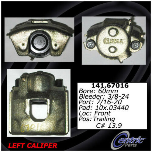 Disc Brake Caliper-Premium Semi-Loaded Caliper-Preferred Front Left fits Dakota