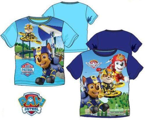 Paw Patrol T /_ Shirt pour Garçons Enfants T-shirt manches courtes