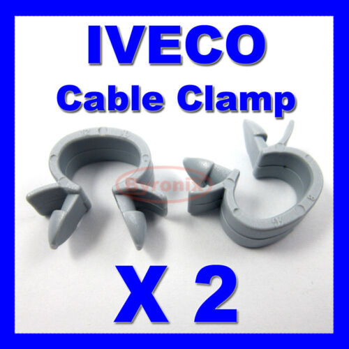 IVECO CABLE PIPE CLAMP WIRES WIRING LOOM HARNESS CLIP HOLDER
