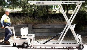 Electrodrive-Tug-Lifting-Platform-350kg-1-9m-lift-aircraft-Cargo-Patient-loader
