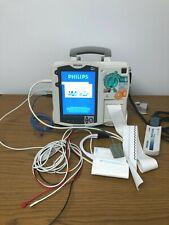 Philips Heartstart Mrx Nipb Ecg Spo2 Monitor With Accessories Biomed Test