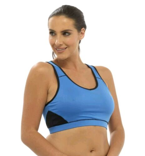 Ladies Women/'s Crop Top Sport Fitness Gym Clothing Vest Training Bra LN305