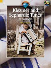Klezmer And Sephardic Tunes For Accordion Merima Kljuco Book Cd NEW!