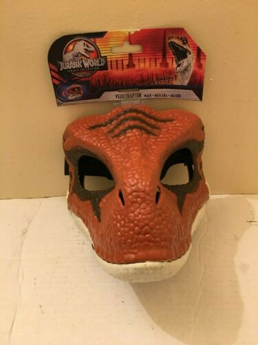 BRAND NEW! JURASSIC WORLD VELOCIRAPTOR LEGACY COLLECTION MASK MOVEABLE JAW