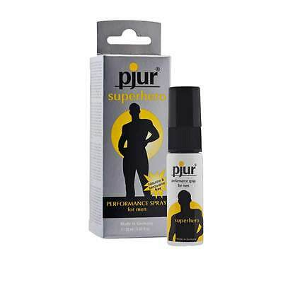 Pjur Superhero Performance Booster & Enhancer Spray 20ml