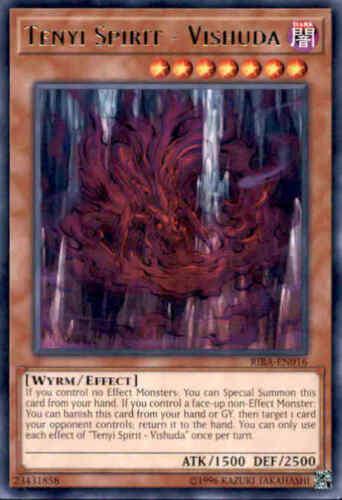 Rare Yugioh Tenyi Spirit 3 Available RIRA-EN016 Vishuda