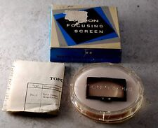 GENUINE TOPCON FOCUSING SCREEN #6 WITH BOX Made IN JAPAN