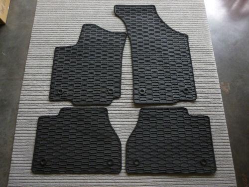 Fußmatten Qualitäts Gummi $$$ Gummimatten für Audi TT TTS TTRS Coupe 8J NEU