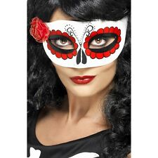 Day of The Dead Mask Adult for Dia de Los Muertos Sugar Skull Halloween Costume