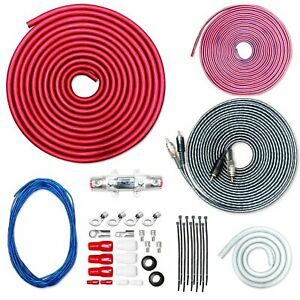 CT Sounds OFC Car Amp Kit 4 AWG 4GA ELITE Series Wire Installation Amplifier Kit