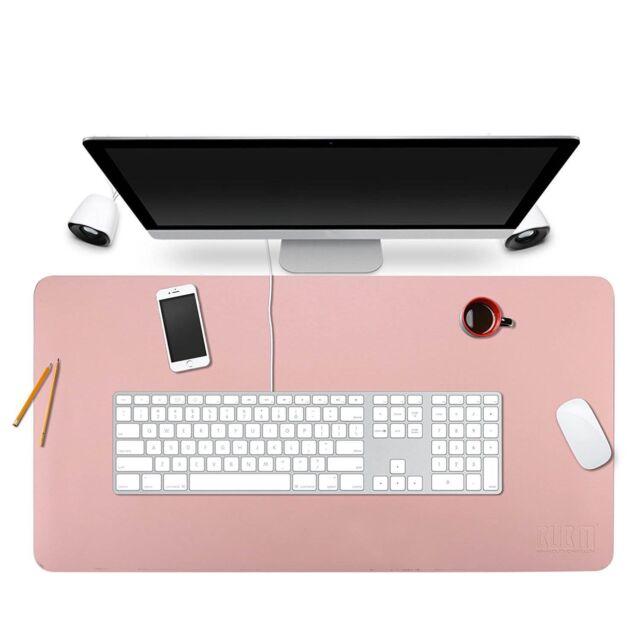 Bubm Desk Pad Protecter 35 X 18 Pu Leather Mat Blotters Organizer Rh Com Executive For Women