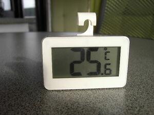Kühlschrankthermometer : Digital kühlschrankthermometer weiß gefrierschrank wohnzimmer garten