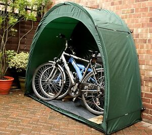 Bike Storage Shed Tent Shelter Bikes Cave Outdoor Cover Unit
