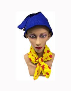 Gnome Dwarf White Hat Adult Size One Smurf Size Fancy Dress Accessory