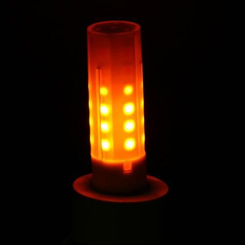 G4 Flickering Flame Fire Feuer Effect LED Bulb 12V 2W Flammenlicht Retro Decor