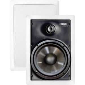 """BIC AMERICA M-PRO6W BIC America 6.5/"""" Weather-Resistant In-Wall Speakers"""
