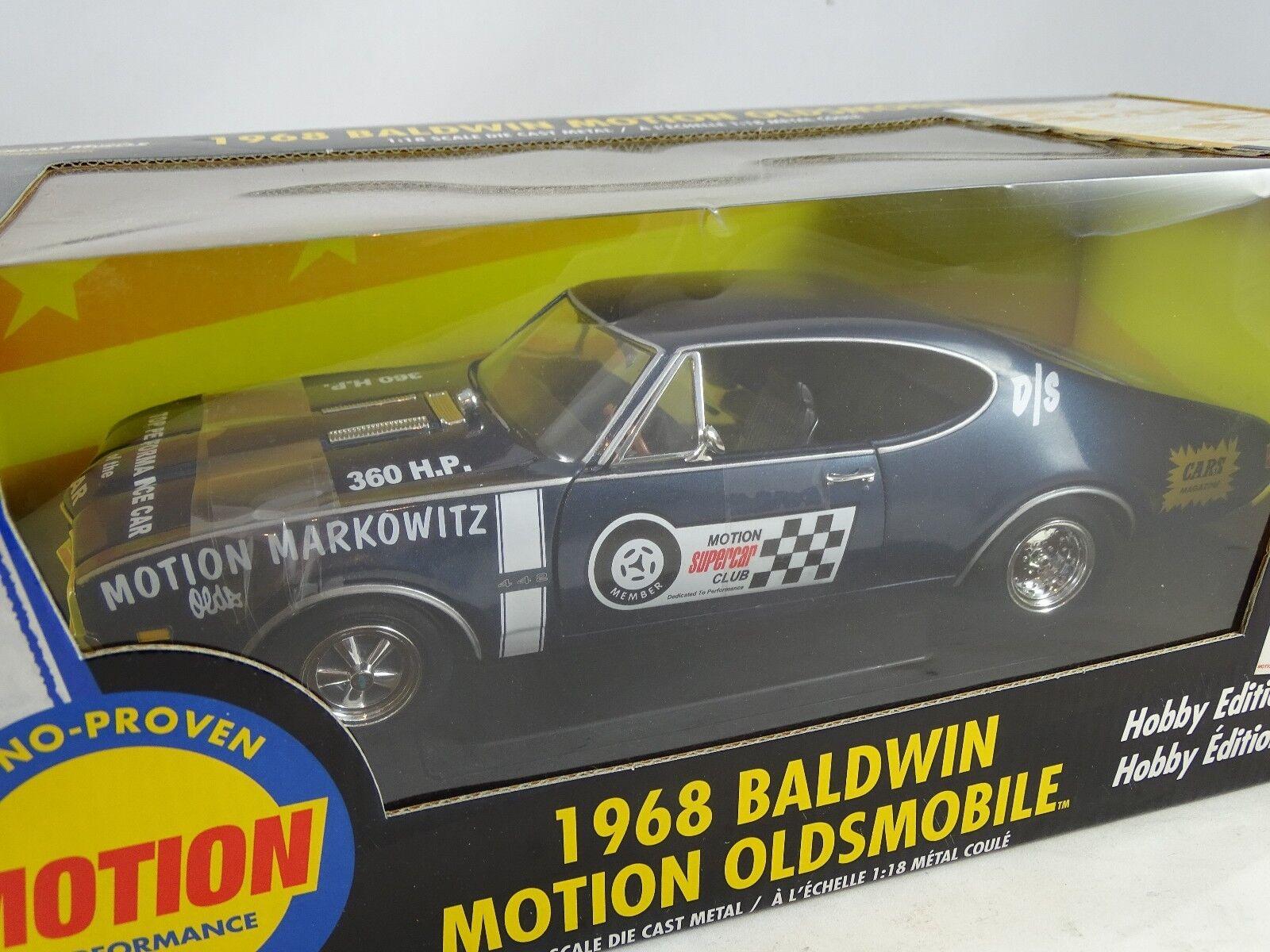 1 18 ertl  36984 36984 36984 1968 Baldwin Motion oldsmobile hobby EDT. rareza § 30ee9d
