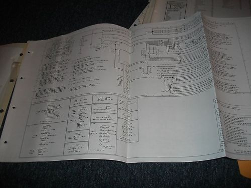 1985 Lincoln Continental Wiring Diagrams Manual Set Oem