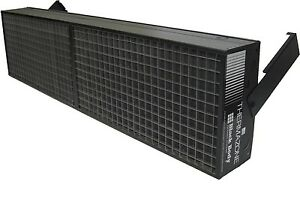 Bbc Thermazone Black Body Electric Infrared Garage Heater 48 X 12