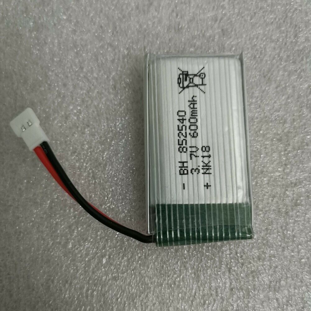 Image 2 - 2x-852540-Replacment-802540-3-7V-600mAh-XH-Plug-Battery-For-RC-Quadcopter-Drone