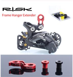 1pc Risk MTB Bike Rear Derailleur Hanger Extender Frame Rear for 34-52T Flywheel