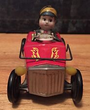 Vintage ANTIQUE KO BUMP'N GO HOT ROD Tin Toy. Made In Japan. Rare!