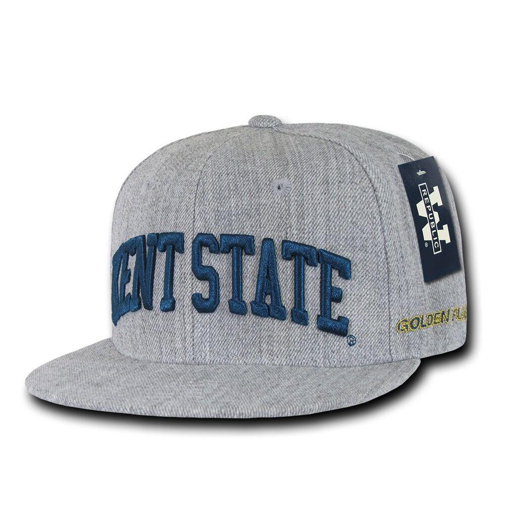 NCAA Kent State University Golden Flashes 6 Panel Hats Game Day Snapback Caps Hats Panel 78de6b