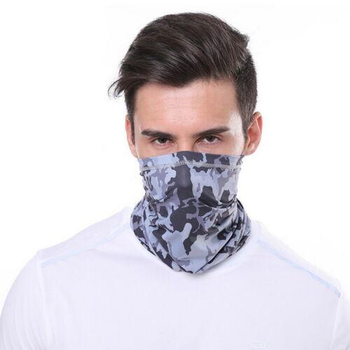 Bandana Face Covering Mask Biker Gaiter Tube Snood Scarf Breathable Neck Cover