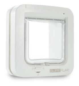 Sureflap-Microchip-Cat-Flap-Door-Automatic-Electronic-Keep-Out-Unwanted-Pets