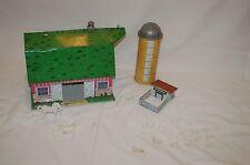 Vintage Marx Toys Lazy-Day Farm W/ Silo Chicken Coop & Animals!!!