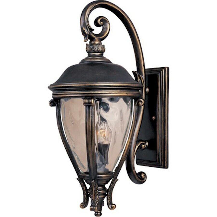 Maxim Camden VX 3-Light Outdoor Wall Lantern Lantern Lantern Golden Bronze - 41426WGGO 1003f0