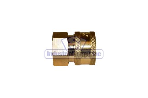 "Pressure WasherQuick Connects3//8/"" Female NPT Socket3//8/"" Female NPT Plug"