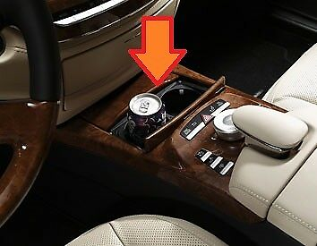 NEW Genuine Mercedes Benz MB S W221 Facelift 09-Boissons Tasse Titulaire Console Centrale