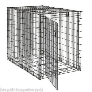 54-034-XXL-GIANT-EXTRA-LARGE-Breed-Dog-Pet-Crate-Cage-Kennel-Pan-not-included