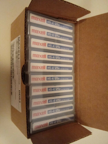 10 pack Maxell 12GB//24GB 4mm DDS-3 DAT Tapes Cartridge