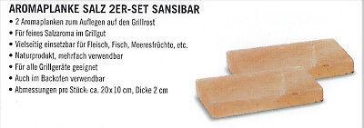 Barbecues, Grills & Smokers Neu Und Originalverpackt Rösle Sansibar 2er Set Aromaplanke Salz Home & Garden